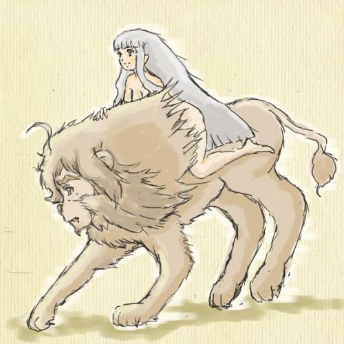 金の獅子、銀の乙女