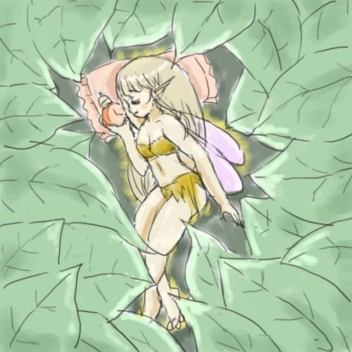 居眠り秋の精.jpg