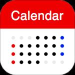 シームレス カレンダー : シンプルで使いやすいスケジュール帳