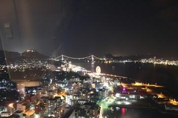 4/30 ゆめタワーからの下関の夜景