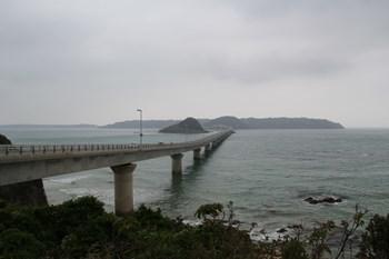 5/1 角島側からの角島大橋