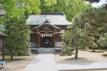 5/2 松門神社 旧本社殿