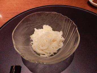 7/30 3回忌会食 凌ぎ 素麺 夏雪仕立て   青柚子