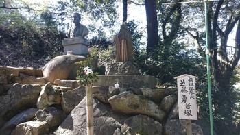近藤勇の首塚1(法蔵寺)