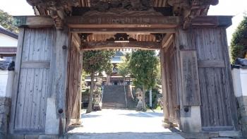 法蔵寺の門