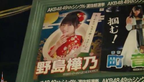 AKB48 49thシングル選抜総選挙_選挙ポスター_野島樺乃