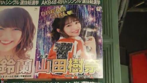 AKB48 49thシングル選抜総選挙_選挙ポスター_山田樹奈