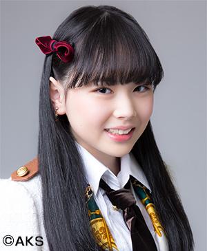 渥美彩羽_2017年SKE48公式プロフィール写真