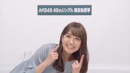 加藤玲奈_AKB48 49thシングル選抜総選挙アピールコメント動画_画像 (194)