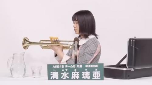 清水麻璃亜_AKB48 49thシングル選抜総選挙アピールコメント動画_画像 (453)