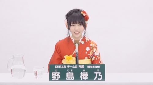 野島樺乃_AKB48 49thシングル選抜総選挙アピールコメント動画_画像 (1127)