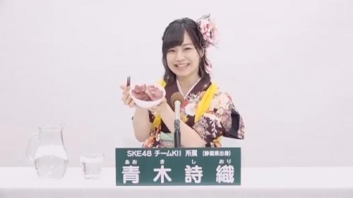 青木詩織_AKB48 49thシングル選抜総選挙アピールコメント動画_画像 (1199)
