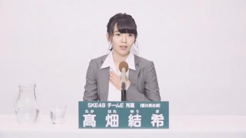 髙畑結希_AKB48 49thシングル選抜総選挙アピールコメント動画_画像 (1551)