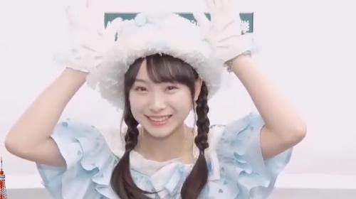 梅山恋和_AKB48 49thシングル選抜総選挙アピールコメント動画_画像 (2166)