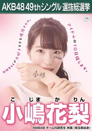 小嶋花梨_AKB48 49thシングル選抜総選挙ポスター画像