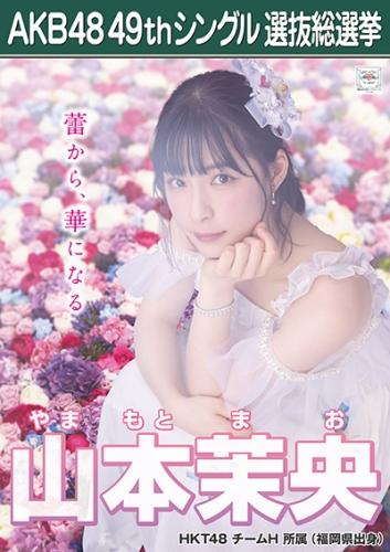 山本茉央_AKB48 49thシングル選抜総選挙ポスター画像