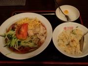 大門 慶珍楼 冷し中華+半炒飯(2017/5/31)