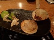 浜松町 焼はまぐりる 大門店 自慢の煮はまぐり海鮮丼(2017/5/8)