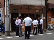 浜松町 キッチン ハレヤ 店構え(2017/5/9)