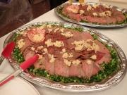 手しごとや咲くらの鯨ステーキ 第29回 日本の捕鯨と食文化を守る会at憲政記念館(2017/5/11)