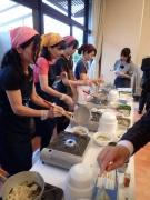 大阪は徳家のハリハリうどん 第29回 日本の捕鯨と食文化を守る会at憲政記念館(2017/5/11)