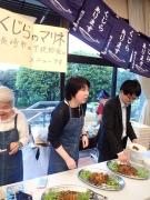 長崎市長崎鯨食文化を守る会の揚げ鯨のマリネ 第29回 日本の捕鯨と食文化を守る会at憲政記念館(2017/5/11)