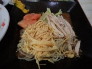 中野 中華 和 本日のサービスAセット(しょうが焼き丼+冷し中華)(2017/8/18)