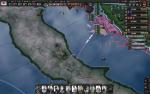 イタリアへの強襲上陸47年
