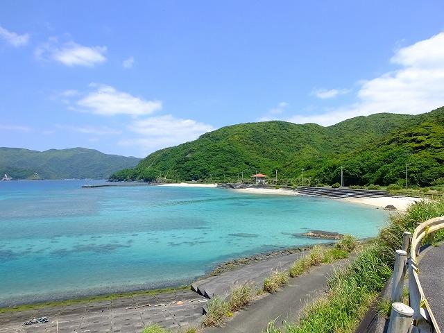 宇検村タエン浜