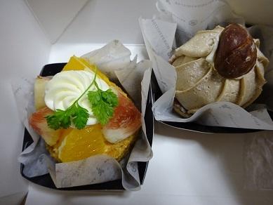 高野倉のケーキ