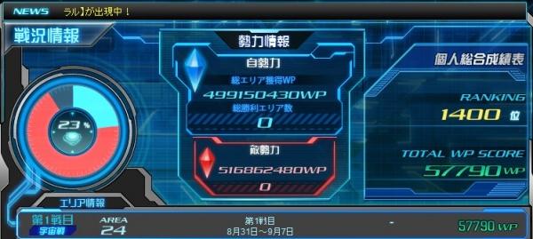 SDOP 艦隊戦劣勢2