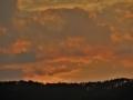 日没の西山