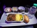 機内食 ビーフ