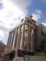 アントニヌス・ピウス帝とファウスティーナの神殿
