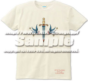 T-shirt swallow & dagger