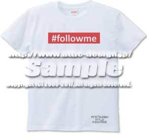 T-shirt #followme