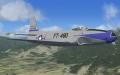 松本盆地上空のF-90