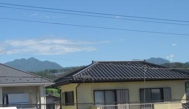 茅ヶ岳周辺の山々
