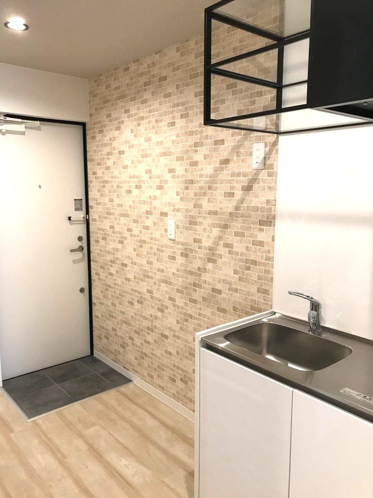 プロヴァンス風のガーリーハウス キッチン101