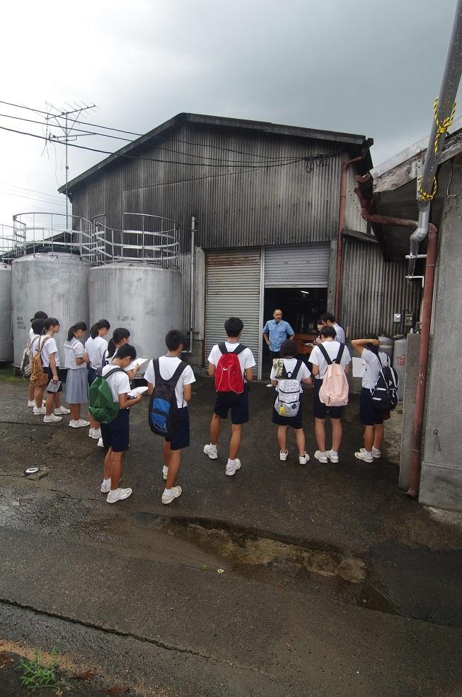 多良木中学生