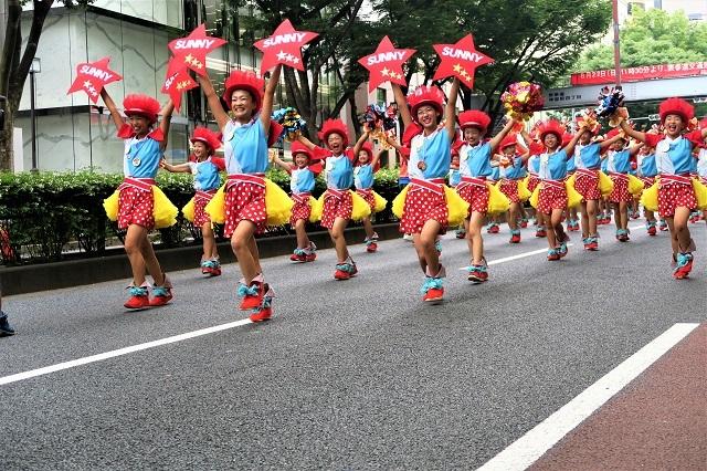 2017原宿スーパーよさこい(サニーグループよさこい踊り子隊SUNNYS/高知県)