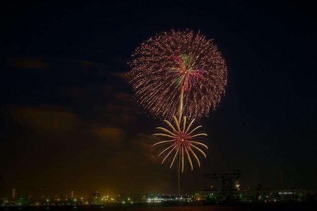 2017横浜スパークリング花火(1)