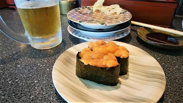 金谷で寿司