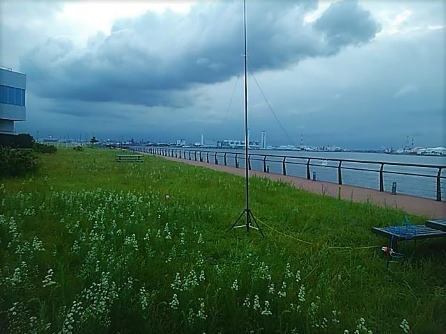 東扇島でTDFアンテナ実験(2)