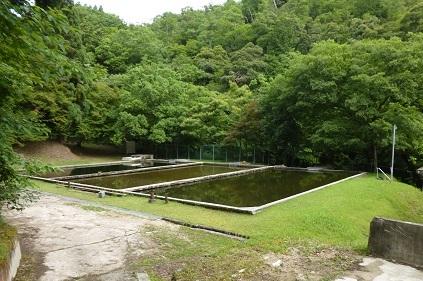 宮津市滝上浄水場ろ過池
