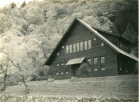 芦生演習林事務所001