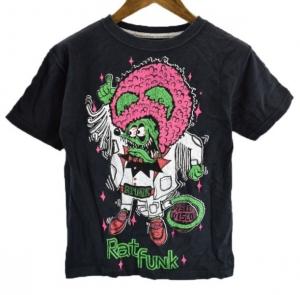 RAT FUNK ラットフィンク ディスコ 半袖 プリント Tシャツ