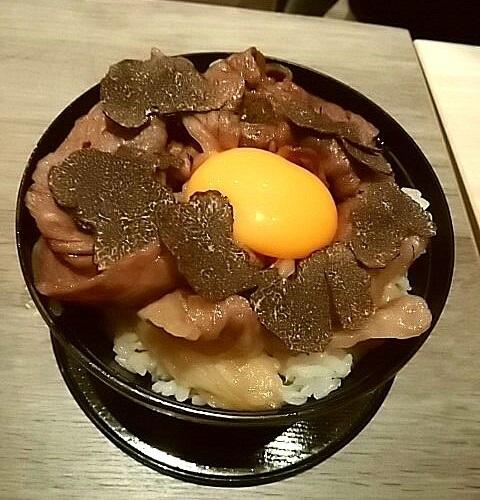 歌京 トリュフ丼