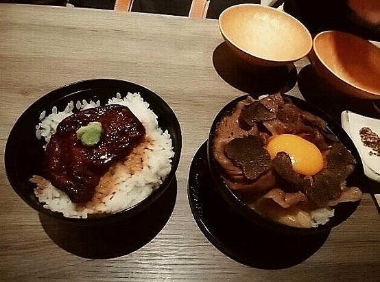 歌京 丼2種