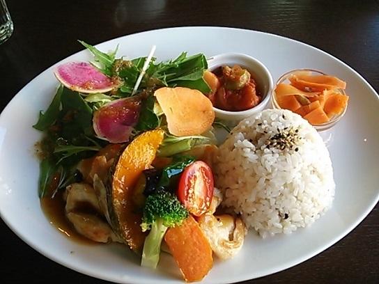 ジャムカフェ 玄米プレート